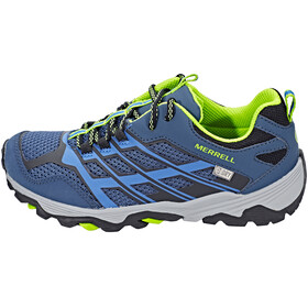 Merrell Moab Fst Low WP Shoes Youth navy/blue